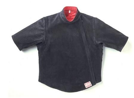 Allstar Leather Short Sleeve Coach Jacket