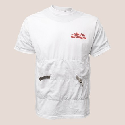 Allstar conductive T shirt wireless foil